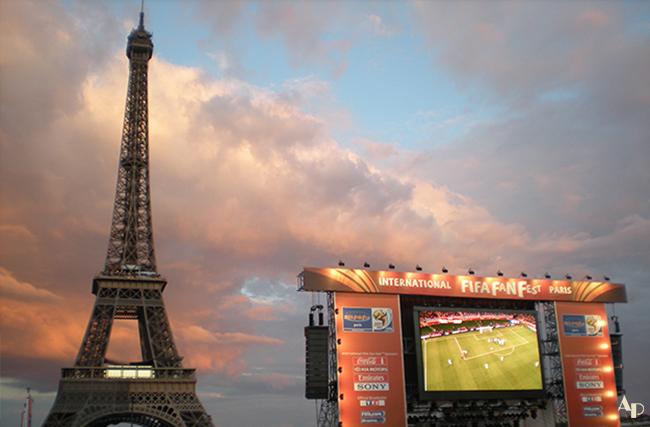 Tour Eiffel Fifa Fan Fest Paris