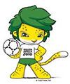 Zakumi mascotte coupe du monde football 2010