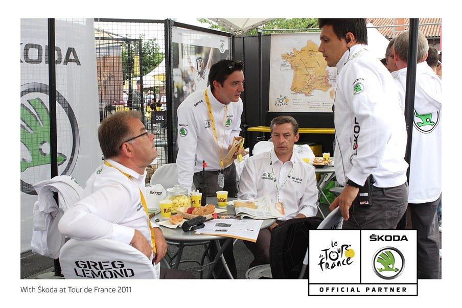 Tour de France Skoda 2011
