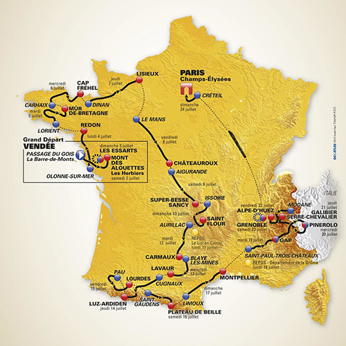 Tour de France avec Škoda