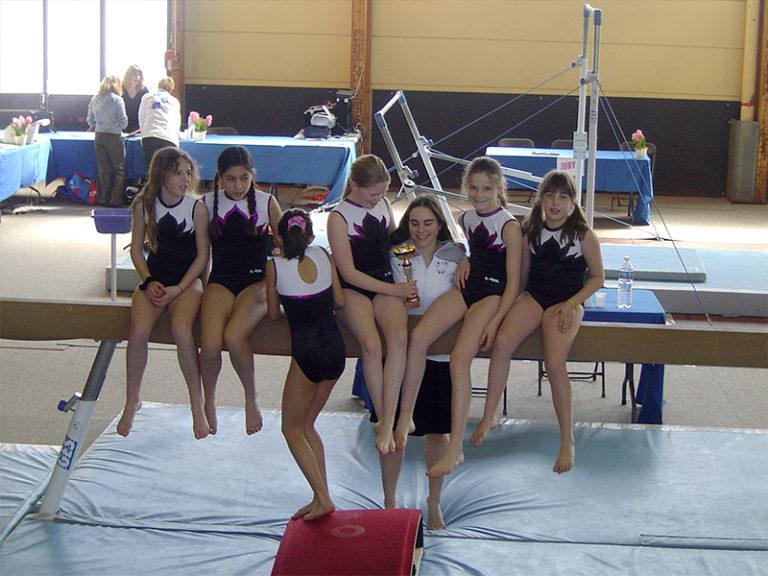 entraîneur gymnastique artistique