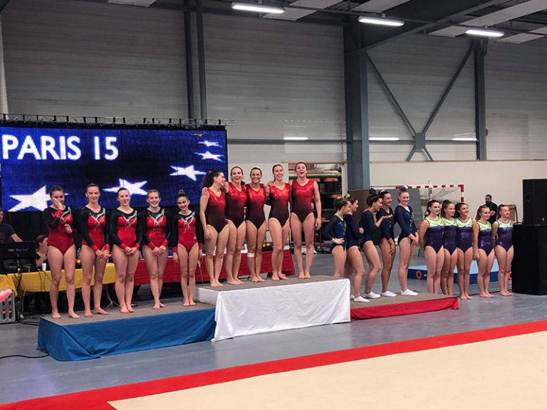 gymnastique compétition