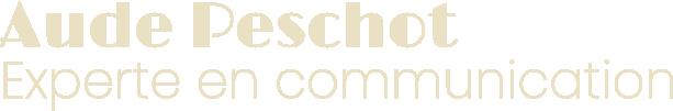 Aude Peschot experte communication